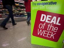 Deal of the week sign, Co-op