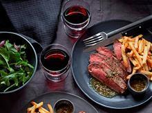 Waitrose Flat iron Steak valentines day