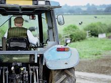 farmer tractor