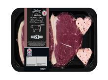 Lidl Valentines steak pack shot