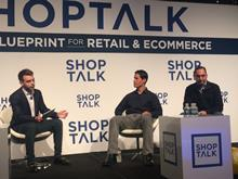 Panel discussion at the Shoptalk conference