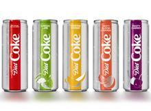 New Diet Coke range for the US - Jan 2018