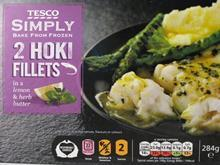 Tesco Hoki Fillets