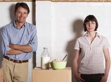 Nick Barnard and Camilla Barnard of Rude Health