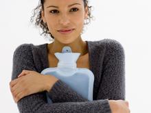 hot water bottle lady