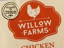 willow farms exclusively at tesco