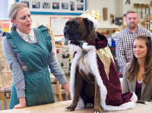 A shot from Lidl's new School of Christmas ad