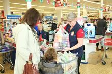 Tesco bag packers