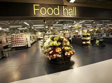 marks & spencer food hall