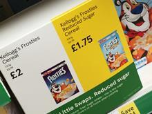 tesco price cuts on healthier options cereal