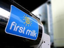 First Milk tanker