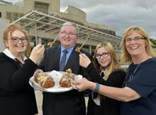 The ad stars students from Bo'ness Academy in Scotland