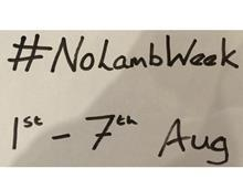 No Lamb Week