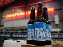 Punk IPA Brew Dog beer will produce spirits