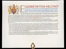 Royal charter of the Chartered Institute of Horticulture