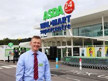 Asda - store of the week - manager warren Cook