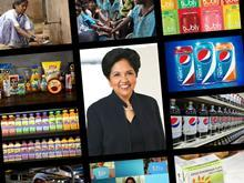 Indra Nooyi montage Pepsico
