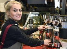 Costa staff barista