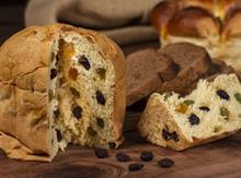 Raisin fruit loaf