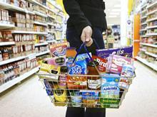 shopping basket supermarket
