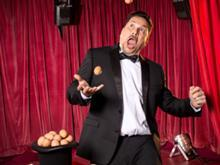 Dom Joly Cracking Eggs