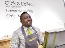 Waitrose click & collect concierge desk
