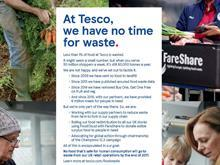 tesco no time for waste