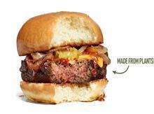 plant meat burger