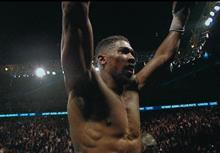 Lucozade Sport ad still feat. Anthony Joshua