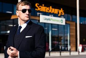 Sainsburys Tu Formal navy textured suit 85 web