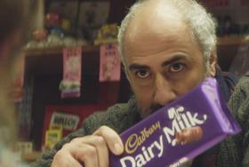 Cadbury Dairy Milk ad still Jan 2018