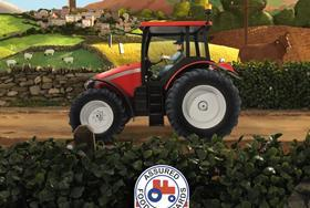 red tractor ad