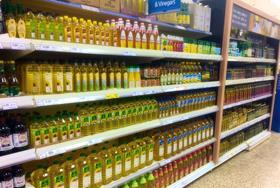 tesco shelves