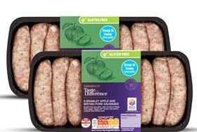 sainsbury's snack pack sausages