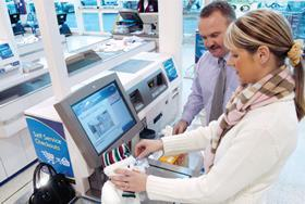 Tesco self-service till