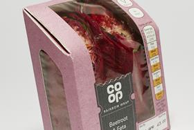 The Co-op Beetroot Wrap
