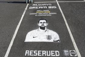 lidl harry kane parking space