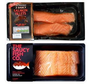 Aldi saucy salmon