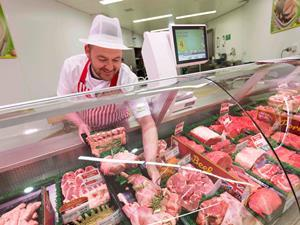 Morrisons meat counter