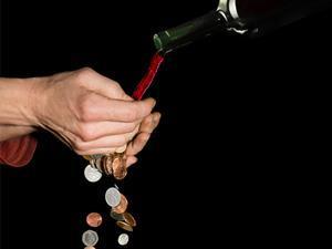 wine focus on one use