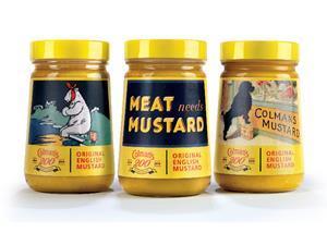 Colman's Mustard dons a vintage look
