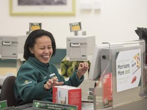 morrisons checkout staff