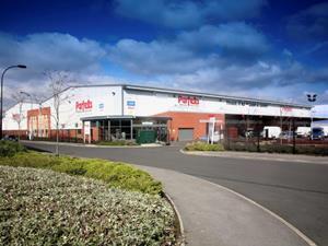 Parfetts Sheffield depot