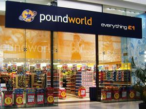 Poundworld store front