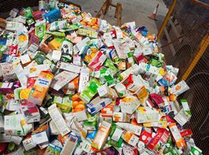 Beverage cartons for recycling