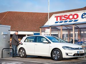 Tesco electric vehicle charging