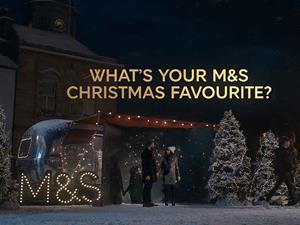 M&S Christmas ad 2018