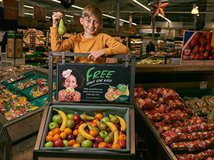 Morrisons free fruit