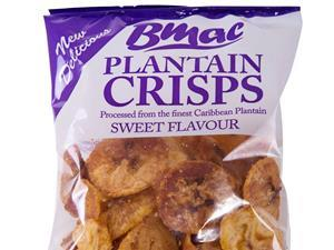 BMAC plantain crisps