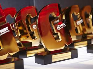Grocer Gold Awards 2013 trophies